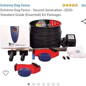 Underground Electric Pet Fence 1000' for 2 dog